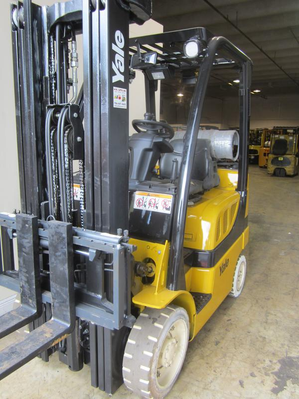 USED Yale Forklifts Miami CHEAP FORKLIFTS FOR SALE